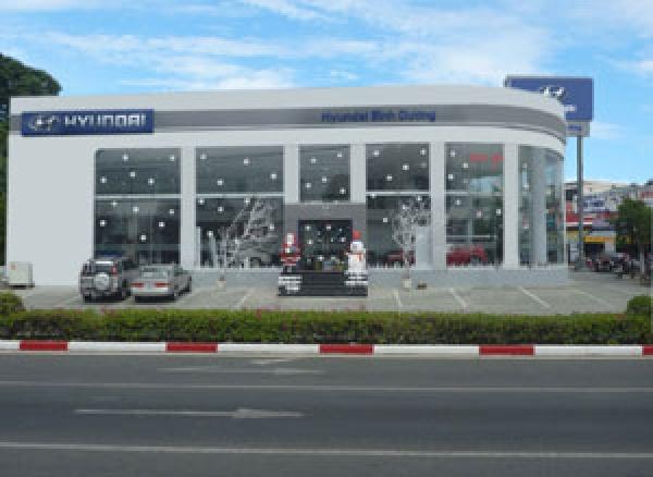 Hyundai Bình Dương, Đại lý xe ô tô Hyundai Binh Duong