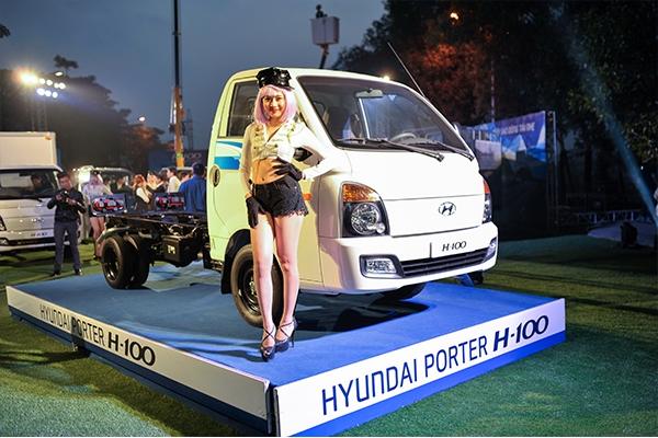 Hyundai Bình Dương giới thiệu xe tải nhẹ Hyundai Porter H100 đến thị trường Việt Nam